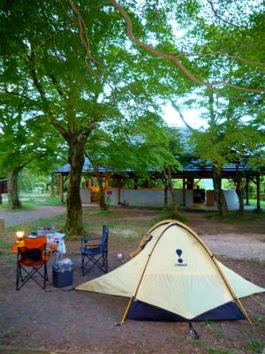 息子と男キャンプ